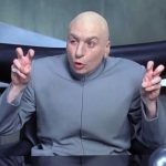 Dr Evil air quotes