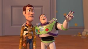Woody and Buzz Lightyear Everywhere Widescreen