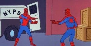 Spider Man Double