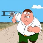 Peter Griffin Running Away