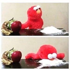 elmo cocaine