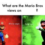 Mario Bros Views