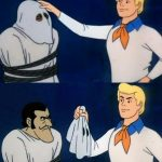 Scooby doo mask reveal