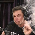 Elon Musk Smoking A Joint