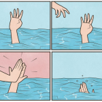 High five drown