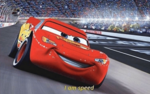 I am speed