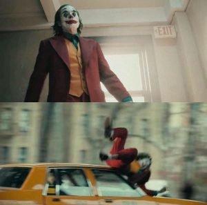Joaquin Phoenix Joker Car