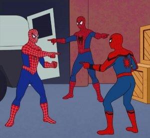 Spider Man Triple