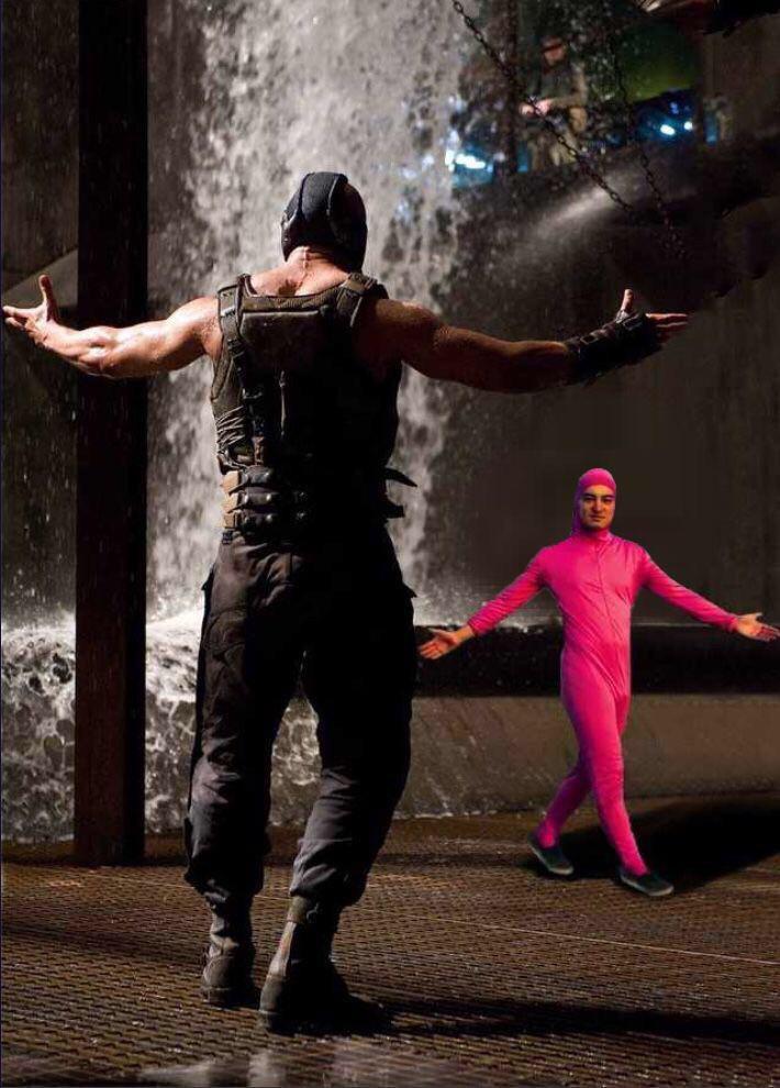 Pink Guy vs Bane