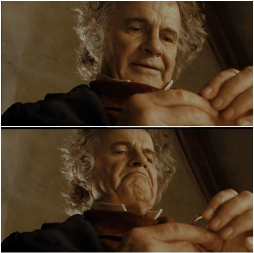Bilbo - Why shouldn't I keep it?