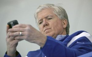 Brian Burke On The Phone