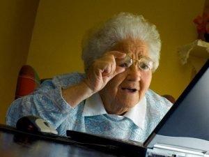 Grandma Finds The Internet