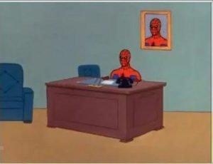 Spiderman Computer Desk