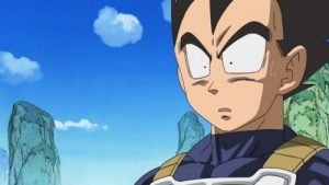 Surprized Vegeta