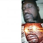 Sleeping Shaq