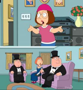 Meg Family Guy Better than me