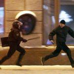 Police Chasing Guy