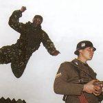 Soldier jump spetznaz