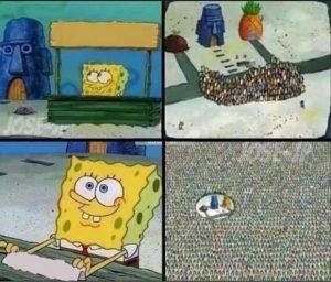 Spongebob Hype Stand