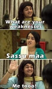 What are your weaknesses